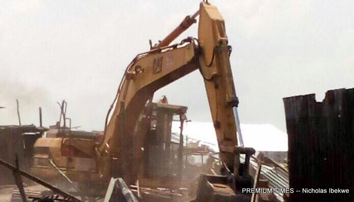 LASG INSISTS DEMOLITION OF WORKSHOP PROPERTY WAS IN COMPLIANCE WITH COURT ORDER