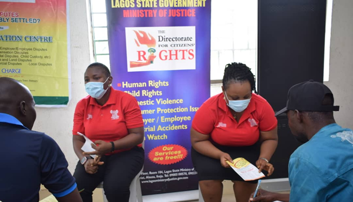 LASG Free Legal Consultation Exercise puts Smile on the Faces of Badagry Residents