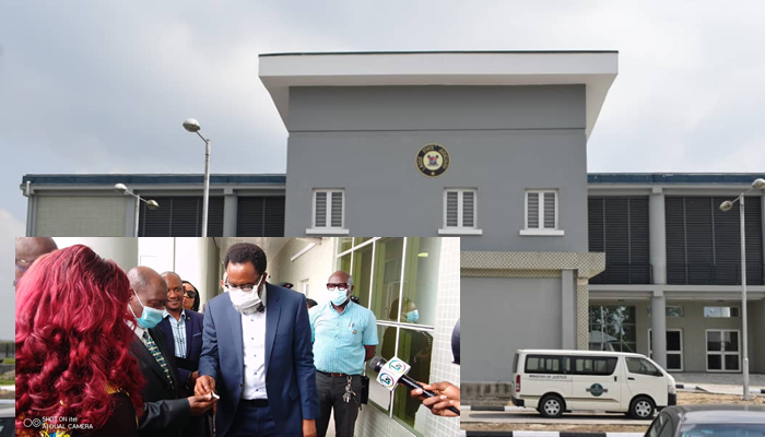 LASG Hands Over New Temporary Court Complex at Osborne to Judiciary