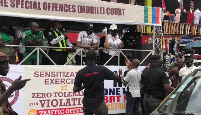 Lagos Mobile Court Warns Motorists against Violation of Traffic Laws