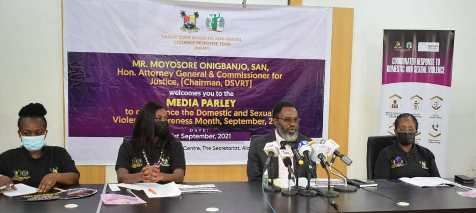 Lagos Records Over 10,000 Cases Of Domestic , Sexual Violence In 3 Years'